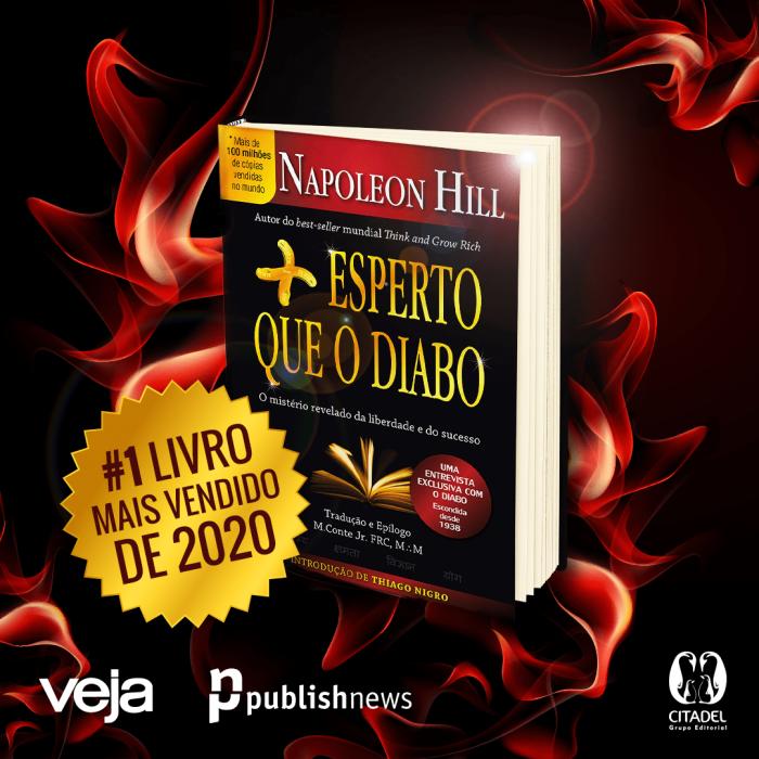 O Livro Mais Vendido em Todo o Brasil no Ano de 2020